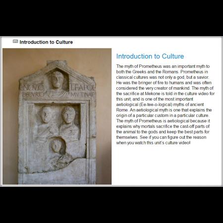 Latin II, Part 1 (WLG230A)
